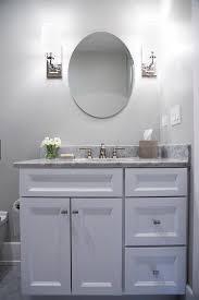 modern bathroom cabinet knobs. white vanity with glass art deco knobs modern bathroom cabinet