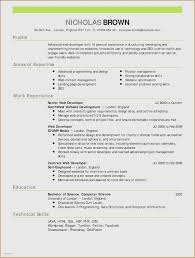 Resume Templates Just Graduated Best Of Writing A Resume Cover