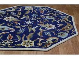 octagonal rug st paradise blue octagon area jcpenney rugs octagonal rug large 10