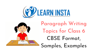 paragraph writing topics for cl 6