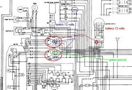 need wiring diagram 4 1983 gl1100 aspencade • gl1100 information always measure directly at the plug wires do not put your meter negative wire on the battery or engine