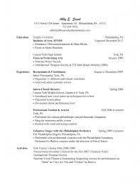 Receptionist Resume Samples General Objective For Middot Salon