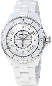 amazon com chanel men s h0685 j12 black dial watch chanel watches chanel j12 swiss automatic mens watch h1629 certified pre owned