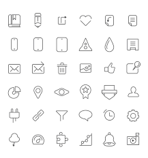 Web Design Icon Psd Free Dashboard Icons Psd File With 36 Shape Icon Icon