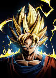 Dragon Ball Goku' Poster by Nikita ...