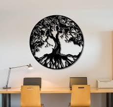 metal wall art decor animals 3d