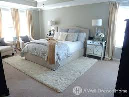 rug under bed placement. Best Bedroom Area Rugs Rug Under Bed Ideas On Placement And W