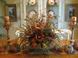 Flower Arrangements For Dining Room Table Dining Room Table Flower Arrangements In Interesting Home Decor