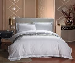 hotel luxury white bedding sets hotel collection woven