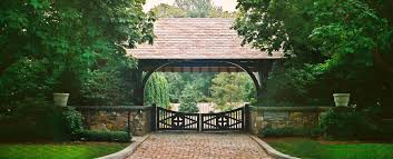 Stroudwater Design Group Historically Inspired Estate Entry By Stroudwater Design