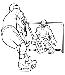 Small Picture Free Printable Hockey Coloring Pages For Kids 29066