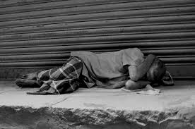 Image result for images of old man sleeping on footpath