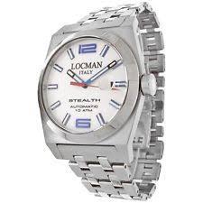 locman watch locman stealth mens automatic lo 205bwh