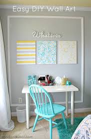 easy diy canvas wall art