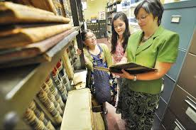 job shadow day students hit the workplace for hands on career in this file photo from 2011 emily mazzeo left and abigail santos of