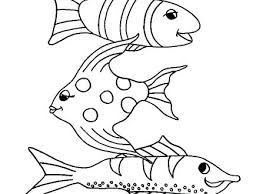 Fish Coloring Pages For Kids Fish Coloring S Colouring To Snazzy