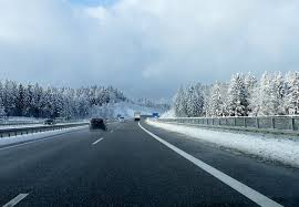 Free Images Snow Winter Frost Driving Asphalt Weather Lane