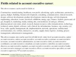 Cover Letter Executive Account Executive Cover Letter Samples