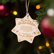 Lasergravierte Weihnachtsdeko Aus Holz Weihnachtsstern