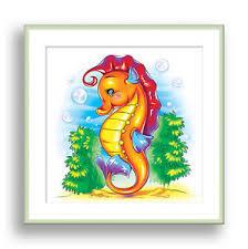 image is loading seahorse wall art ocean animal children bathroom decor  on seahorse wall art for bathroom with seahorse wall art ocean animal children bathroom decor kids playroom
