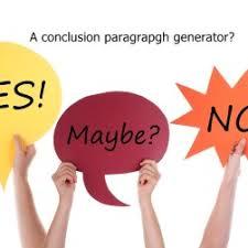 Conclusion Generator For Essays Conclusion Paragraph Generator Write My Conclusion Generator