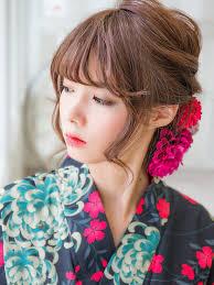 浴衣の髪型ロング編上品可愛いヘアアレンジであなたも浴衣美人に