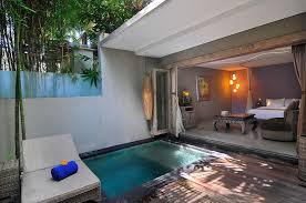 Suite Private Pool Seminyak Bali Hotel Villa Honeymoon