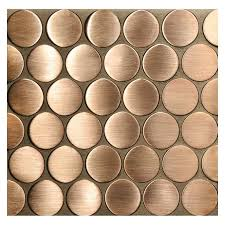why copper mosaic tiles are great for bathrooms kitchens