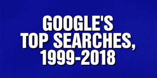 Google's Top Searches was a category on tonight's Jeopardy - 9to5Google