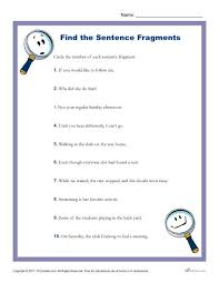 Sentence Fragments Which Of The Following Is A Sentence Fragment
