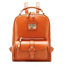 pu leather vintage women backpack student school bags travel rucksack blue cod