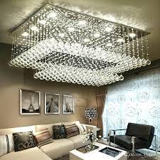 rectangular flush mount chandelier full size of modern crystal flush mount chandelier