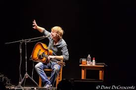 phish frontman trey anastasio brought his solo acoustic tour through ithaca this past friday night trey bined story telling with many of the songs