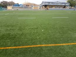 rugby field full size synthetic grass school de hoop soccer rugby