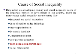 social inequality in 8 cause of social inequality