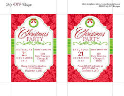 Free Dinner Invitation Templates Printable Gorgeous Free Download Christmas Invitation Templates Bino48terrainsco