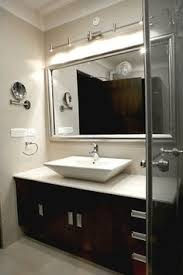 bathroom lighting over mirror. Bathroom Wall Track Lighting Above Mirror Over A