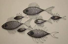 metal fish wall decor dongguan