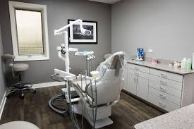 Dental Office Reception Area and Work Stations