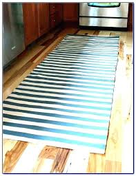 striped rug runners red blue typical and white
