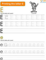 words that start with e for kids