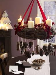 diy chandelier is a great addition to your dining room u0027s holiday decor