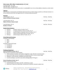 Physician Assistant Resume Examples Amazing Physician Assistant Sample Resume For Job Seekers Melnic