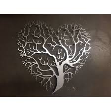 tree heart metal wall art 200 liked on polyvore featuring home home on home is where the heart is metal wall art with tree heart metal wall art 200 liked on polyvore featuring home