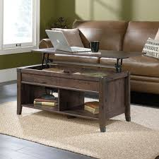 carson forge lift top coffee table 420421 sauder intended for coffee table that lifts plan