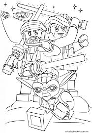 Lego Star Wars Clone Wars Coloring Pages