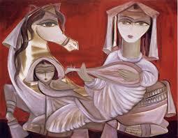 نتیجه تصویری برای نقاشی پادشاه و اسب ها