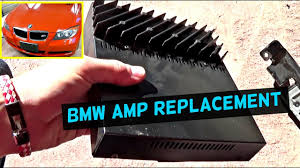 bmw e amp wiring diagram bmw image wiring diagram bmw e90 e92 e93 amp amplifier replacement location 2007 2012 on bmw e90 amp wiring