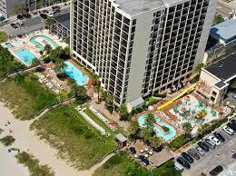 a bird s eye view of sea crest oceanfront resort