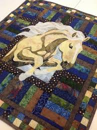 498 best Quilting and Sewing images on Pinterest | Quilting ideas ... & Quilted Horse Applique Adamdwight.com